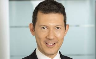 Benjamin Smith en 2016, alors PDG d'Air Canada.