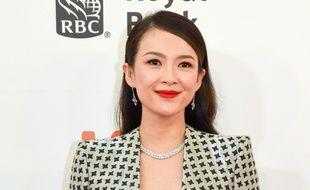 L'actrice Zhang Ziyi à Toronto