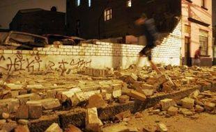 Un tremblement de terre a fait plus de 500 morts au Pérou, le 15/08/2007.