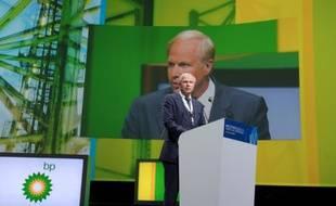 Le directeur général de BP Bob Dudley, le 2 juin 2015 à Paris