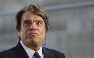 Bernard Tapie, le 26 mai 2013, au Vélodrome de Marseille.
