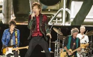 Les Rolling Stones en concert au Canada le 15 juillet 2015