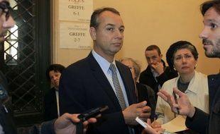 Philippe Karsenty, directeur de l'agence Media Ratings, au tribunal le 22 mai 2013.