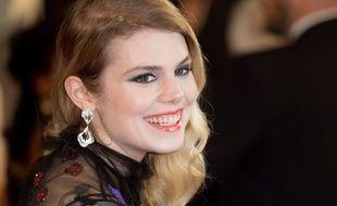 La chanteuse Coeur de Pirate lors du Festival de Cannes le 19 mai 2016.