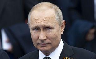 Vladimir Poutine à Moscou le 9 mai.