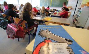 Illustration d'une école en filière bilingue français breton, à Rennes.
