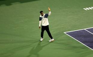 Monfils n'a pas pu jouer son quart à Indian Wells.