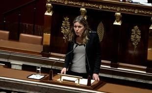 Yaël Braun-Pivet, le 18 novembre 2018 à l'Assemblée nationale.