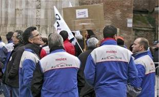 L'usine Molex de Villemur-sur-Tarn qui comptait 283 salariés est fermée depuis octobre 2009.