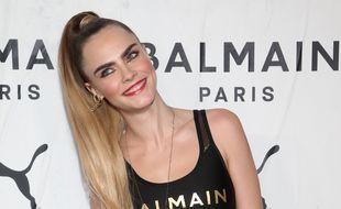La top-modèle et actrice Cara Delevingne