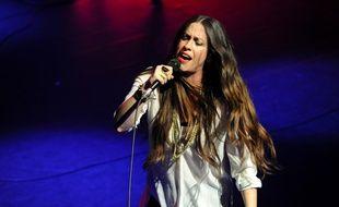 La chanteuse Alanis Morissette