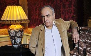 Ziad Takieddine photographié dans son hôtel particulier de Paris, en 2012.