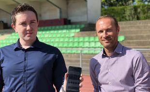 L'application Practice lancé par deux Rennais veut mettre en relation les sportifs amateurs.