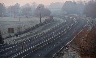 Les autoroutes ont souvent été vides ou presque pendant le confinement. (illustration)