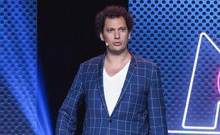 Eric Antoine, à la conférence de rentrée du groupe M6, en septembre 2017.