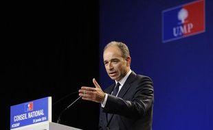 Jean-François Copé, président de l'UMP le 25 janvier 2014.