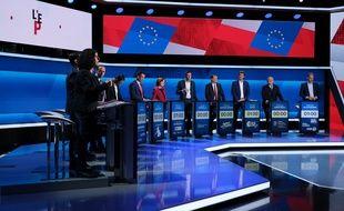 Les candidats venus débattre sur le plateau de «L'Emission politique», mercredi soir, sur France 2.