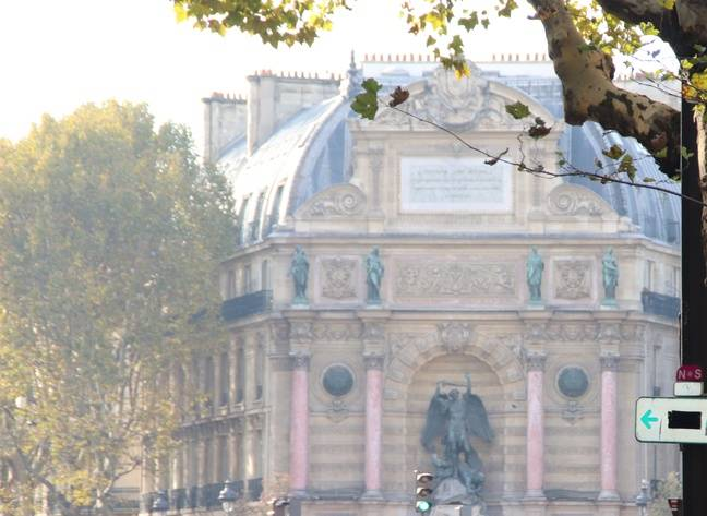 La Fontaine et le quartier St Michel, sources d'inspiration pour les scénaristes