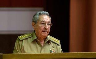 Raul Castro, le 29/12/2015.        AFP PHOTO/www.cubadebate.cu