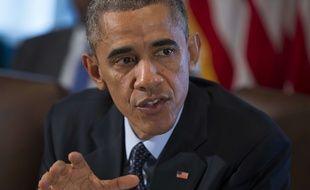 Barack Obama à la Maison Blanche le 7 novembre 2014.