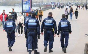 Police municipale, sur les quais de Bordeaux