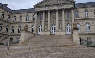 La cour d'assises de la Somme, à Amiens