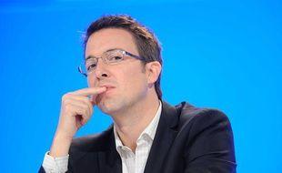 Guillaume Peltier lors d'un meeting de l'UMP àParis, le 26 novembre 2011.
