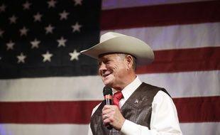 Le candidat républicain à la sénatoriale de l'Alabama, Roy Moore.