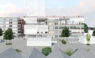 Le projet de cathédrale des sports au sein du quartier Brazza à Bordeaux