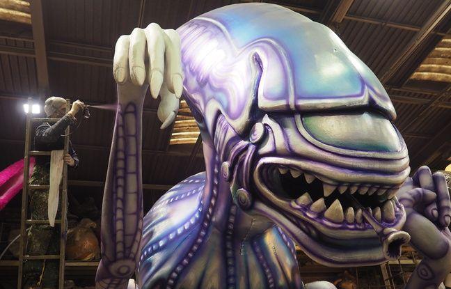 Dernières couches de peinture pour Alien