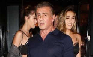 Sylvester Stallone à Los Angeles le 14 juin 2017