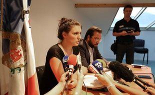 Sandra Bertin, la policière municipale pilotant la vidéosurveillance à Nice