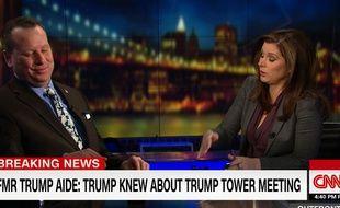 L'ancien conseiller de Donald Trump, Sam Nunberg, le 5 mars sur CNN.