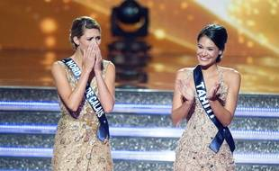 Camille Cerf est la Miss France 2015, Hinarere Taputu, sa première dauphine