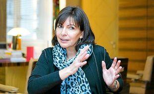Anne Hidalgo, le 8 janvier 2013, à Paris.