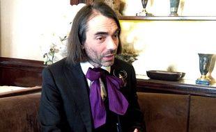 Cédric Villani à Paris le 26 mars 2018.