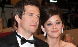 Guillaume Canet et sa compagne, Marion Cotillard au Festival de Cannes en 2013.