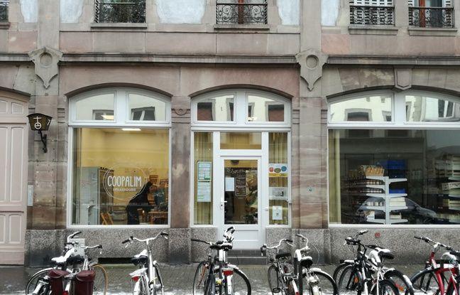 Le local de la coopérative alimentaire de Strasbourg, Coopalim, se trouve rue Kageneck dans le quartier gare.