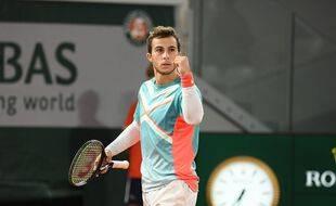 Tombeur de Stan Wawrinka puis tourmenteur de Dominic Thiem, Hugo Gaston a éclaboussé Roland-Garros de son talent singulier.