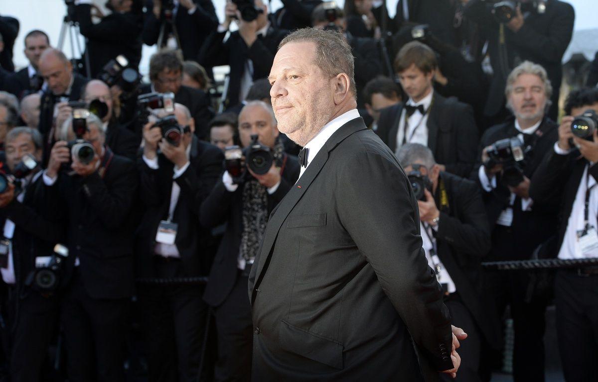 Harvey Weinstein au Festival de Cannes, en 2013. – ANNE-CHRISTINE POUJOULAT / AFP