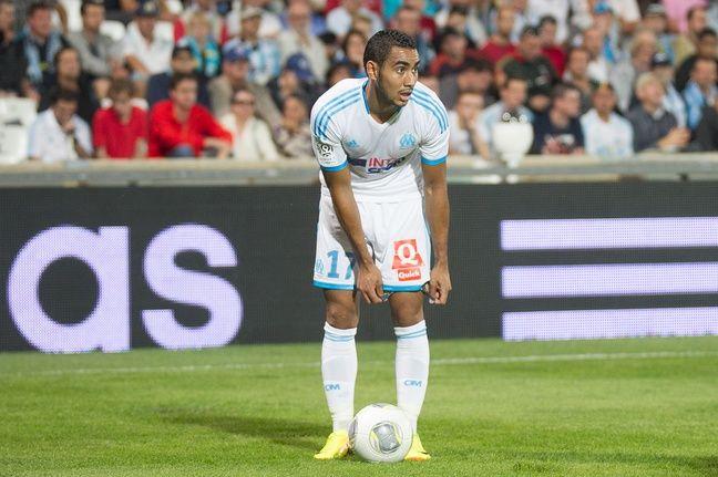 Marseille le 1er septembre 2013 - 7 è journée du championnat de France de ligue 1 de football . Match opposant l 'om à saint Etienne au stade vélodrome PAYET