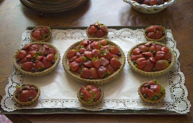Une farandole de tartes aux fraises