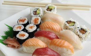 L'Ariège se met aussi à produire des sushis. Illustration.