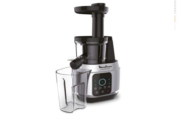 Le Juice & Clean dispose d'un écran tactile pour sélectionner sa vitesse.