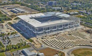 Nouveau Stade Bordeaux Vu Ciel Du