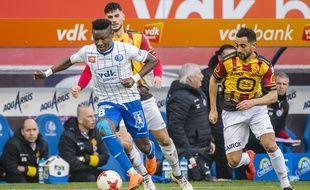 Samuel Kalu a inscrit six buts avec la Gantoise la saison dernière.