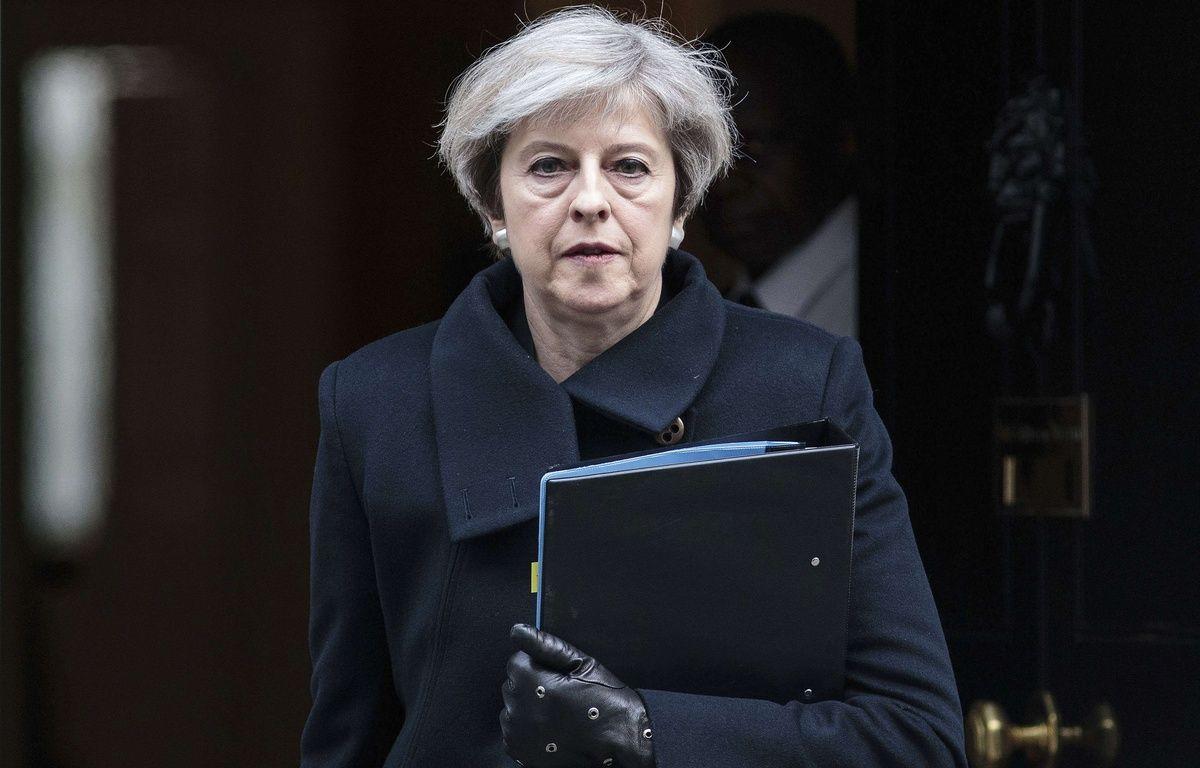 La Premiere ministre britannique Theresa May, le 23 mars 2017. – Jack Taylor/AP/SIPA