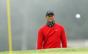 Le sportif Tiger Woods