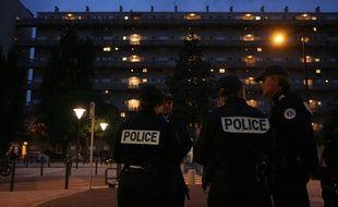 Membre d'une patrouille de la police nationale à Toulouse, ici dans le quartier d'Empalot. (Illustration)