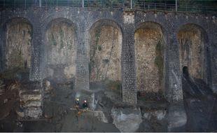 Les travaux d'urgence se poursuivent sur un ouvrage d'art menacé entre Fontan et Saint-Dalmas-de-Tende